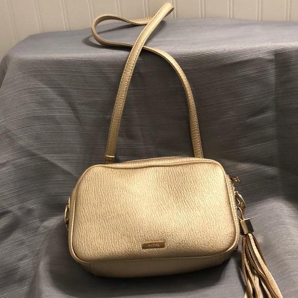 Aldo Handbags - Gold small crossbody bag